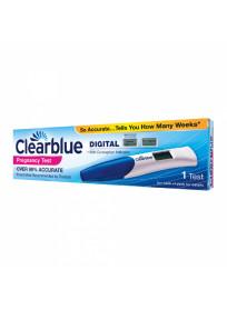 CLEARBLUE skaitmeninis nėštumo testas su savaičių indikatoriumi, 1 vnt.