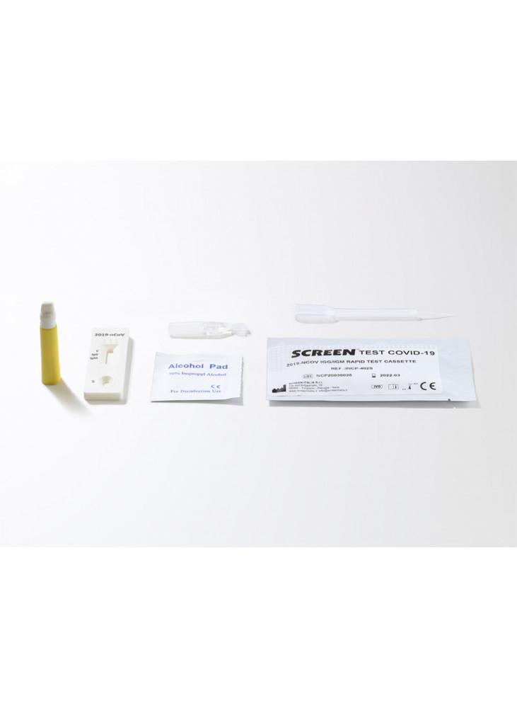 Greitasis SARS-CoV-2 IgG/IgM antikūnų testas (10 vnt.)