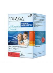 Equazen Eye Q Children's Chews, 60 kapsulių