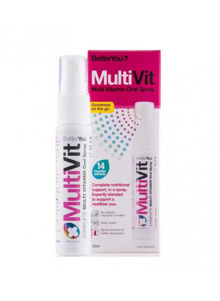 BetterYou vitaminai MULTI VIT, 25ml