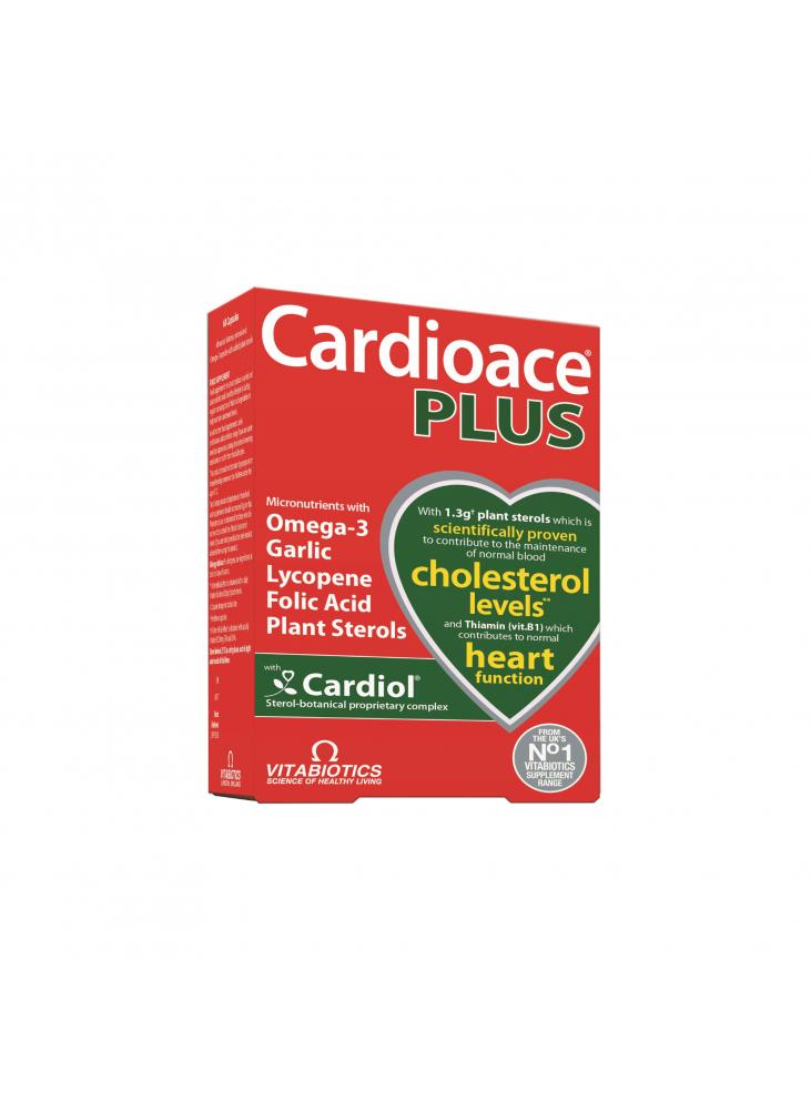 Cardioace PLUS, 60 kapsulių