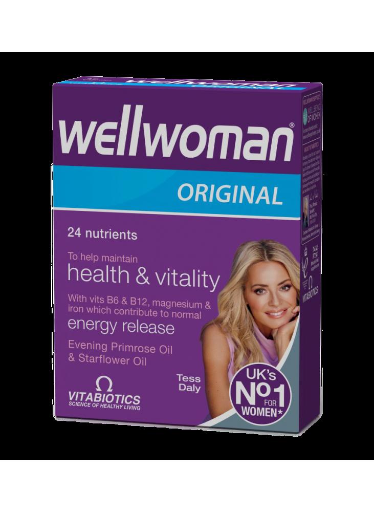 Wellwoman Original, 30 kapsulių